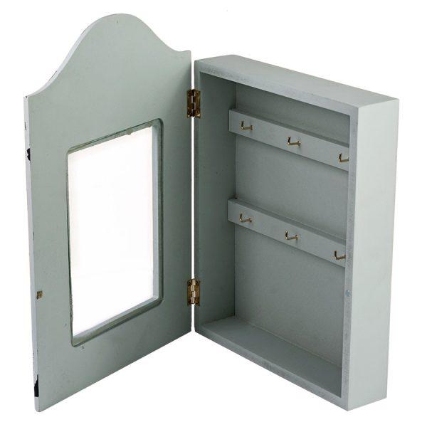 Ключница с узорами, со стеклянной дверцей ML-4813
