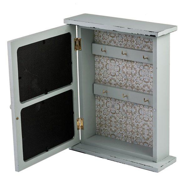 Ключница со стеклянной дверцей и 2 фоторамками ML-4785