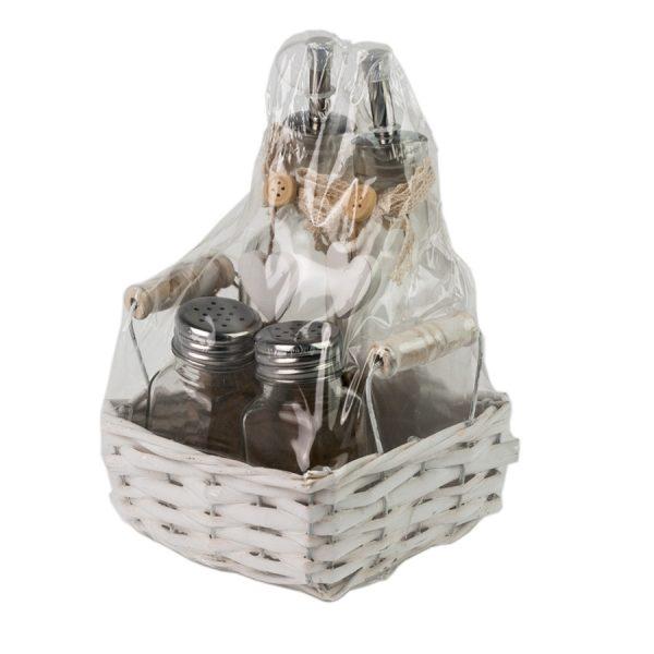 Набор LB16-14/2 для специй из 4-х предметов в корзине