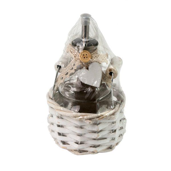 LB16-17/1 Ёмкость для специй(соус, уксус, масло) в корзине