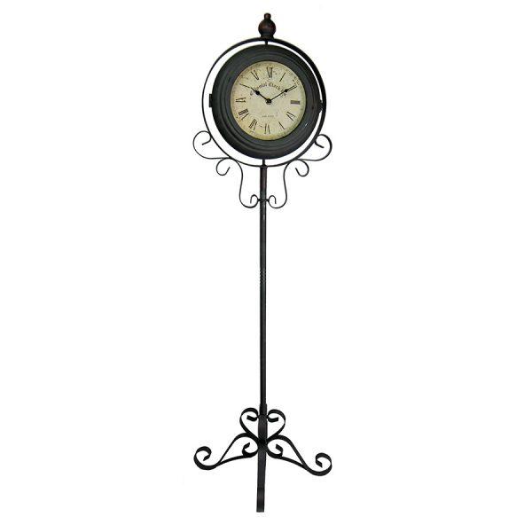 ML-5699 Часы напольные металлические двухсторонние