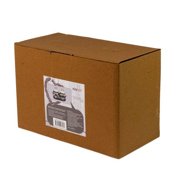 BT-1701/2 Набор ёмкостей в тканевой корзине Прованс