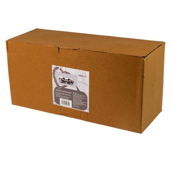 BT-1701/3 Набор ёмкостей в тканевой корзине Прованс