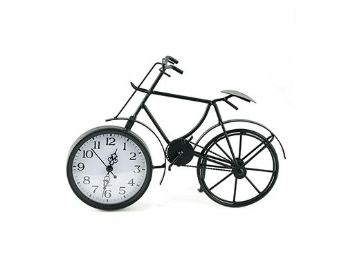 Часы настольные «Велосипед чёрный»