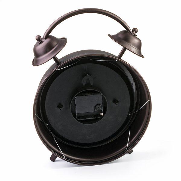 """ML-5374 Часы настольные """"Будильник большой"""" тёмная медь"""
